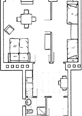 Plan Apartment Sophie